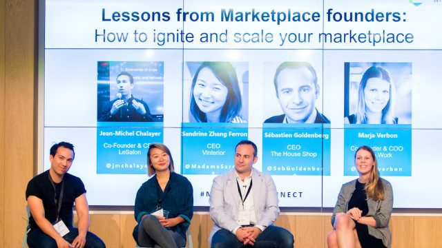How to scale your marketplace: The Houseshop, Jump.work, Vinterior and Le Salon