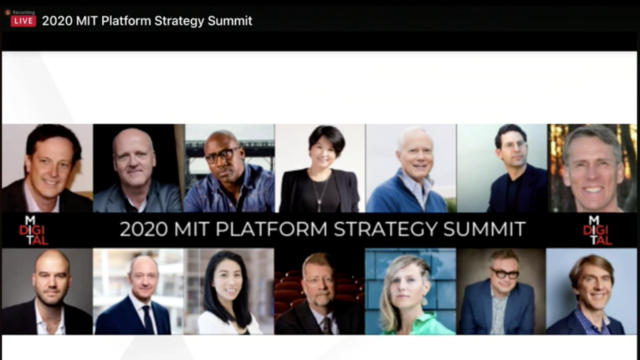 Platform Strategy Summit 2020
