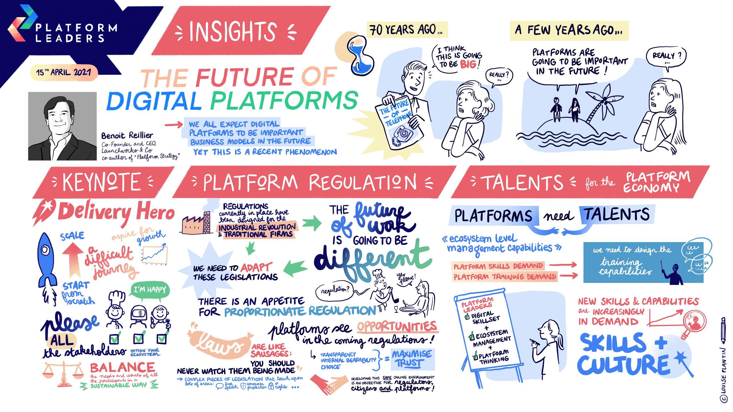 On the frontline of digital platforms